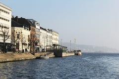 Stad van Arendal Noorwegen Stock Afbeelding