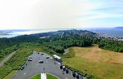 Stad van Astoria Oregon Royalty-vrije Stock Foto