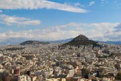 Stad van Athene, Griekenland Stock Afbeeldingen