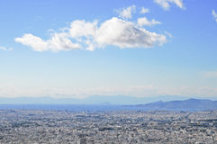 Stad van Athene, Griekenland Stock Foto