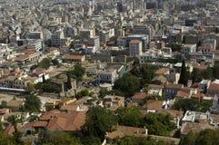 Stad van Athenes Stock Afbeeldingen