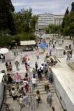 Stad van Athenes Stock Afbeelding