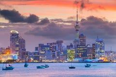 Stad van Auckland stock afbeeldingen
