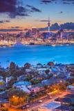 Stad van Auckland stock fotografie