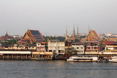Stad van Bangkok, Thailand Royalty-vrije Stock Foto's