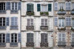 Stad van Bayonne stock foto