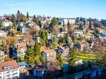 Stad van Bern Stock Fotografie