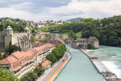 Stad van Bern Stock Foto