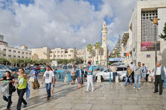 Stad van Bethlehem palestina Stock Fotografie