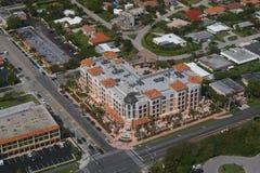 Stad van Boca Raton - Meridiaan Stock Afbeeldingen