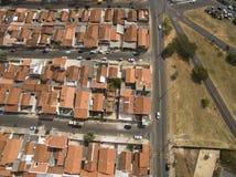 Stad van Botucatu in Sao Paulo, Brazilië Zuid-Amerika royalty-vrije stock afbeelding