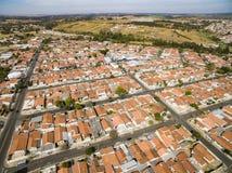 Stad van Botucatu in Sao Paulo, Brazilië Zuid-Amerika stock foto's
