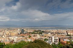 Stad van Cagliari, Sardinige Italië royalty-vrije stock afbeelding