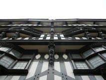Stad van Chester Tudor Facade Stock Foto