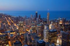 Stad van Chicago. stock foto