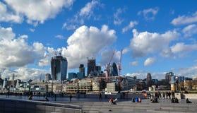 Stad van cityscape van Londen Stock Foto