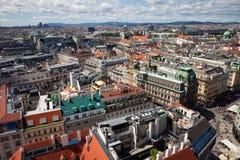 Stad van Cityscape van Wenen in Oostenrijk Stock Foto