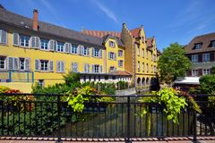 Stad van Colmar, Frankrijk Royalty-vrije Stock Foto's