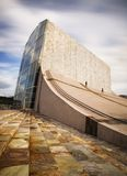 Stad van Cultuur, Santiago DE Compostela, Spanje Royalty-vrije Stock Foto