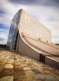 Stad van Cultuur Santiago DE Compostela, Spanje Stock Foto's