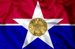 Stad van Dallas stock illustratie