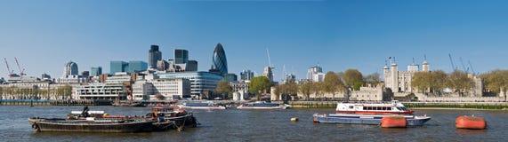 Stad van de horizon van Londen Stock Afbeelding