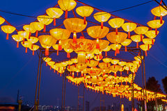 2016 stad van de Lantaarncarnaval van Shanghai de Internationale Magische van licht Royalty-vrije Stock Foto