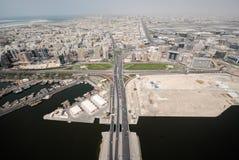 Stad van Deira in Verenigde Arabische Emiraten Stock Fotografie