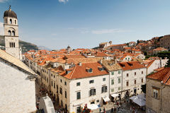 Stad van Dubrovnik Stock Foto's