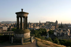 Stad van Edinburgh royalty-vrije stock foto