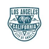 STAD VAN ENGELEN LOS ANGELES CALIFORNIË stock illustratie