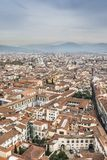 Stad van Florence van de Brunelleschi-koepel van de kathedraal van Florence royalty-vrije stock fotografie