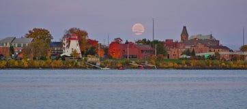 Stad van Fredericton, Canada royalty-vrije stock foto's