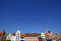 Stad van Gdansk (Danzig), Polen Stock Foto's