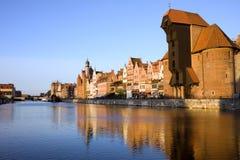 Stad van Gdansk in Polen Stock Foto