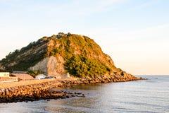 Stad van Getaria Baskisch Land Spanje royalty-vrije stock fotografie
