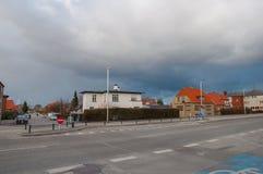 Stad van Glostrup Stock Foto