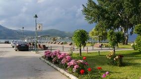 Stad van Gornji Milanovac Royalty-vrije Stock Afbeeldingen