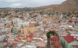Stad van guanajuato, Mexico. Stock Foto's