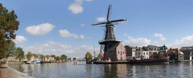 Stad van Haarlem, Nederland Stock Foto
