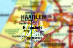 Stad van Heemstede - Nederland royalty-vrije stock foto