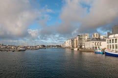 Stad van Helsingborg in Zweden stock fotografie