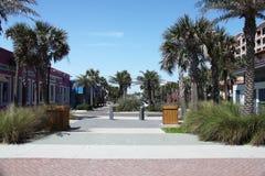 Stad van het strand van Jacksonville in Florida royalty-vrije stock foto