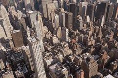 Stad van hierboven Royalty-vrije Stock Fotografie