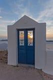 Stad van Imerovigli, Santorini Royalty-vrije Stock Fotografie