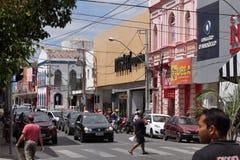 Stad van Juazeiro in Brazilië Stock Foto's