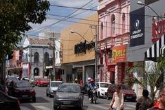 Stad van Juazeiro in Brazilië Stock Afbeeldingen