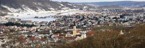 Stad van Kelheim stock afbeeldingen