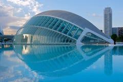 Stad van Kunsten en Wetenschap, Valencia Stock Afbeelding