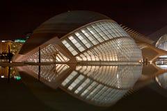 Stad van Kunsten en Wetenschap, Valencia Royalty-vrije Stock Afbeeldingen